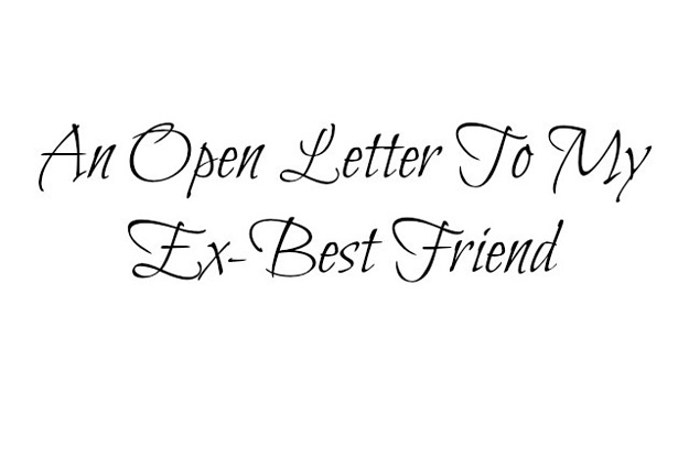 Letter To My Ex Best Friend – OLUMEGBON M ADENIKE